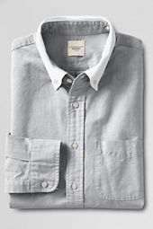 Men's Contrast Collar Oxford Shirt