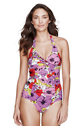 Women's Isla Vista Floral Twist One Piece Swimsuit