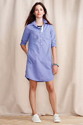 Women's Oxford Shirtdress