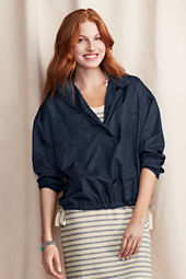 Women's Popover Windbreaker