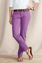 Women's Pigment Dye True Slim Chinos