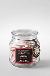 Hammond's Candy All Natural Mint Sticks in a Glass Jar