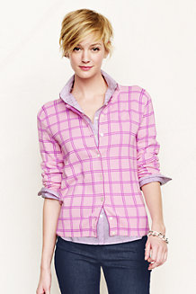 Women's Patterned Supima Fine Gauge Cardigan