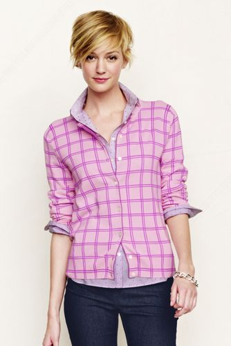Women's Regular Supima Fine Gauge Dot/Tile Print Cardigan