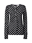 Supima Feinstrick-Cardigan mit Printmuster für Damen