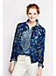 Women's Regular Long Sleeve Floral Print Supima Cardigan