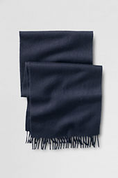 Men's Solid Alpaca Scarf