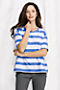 Blue Toile Wide Stripe Thumbnail 0