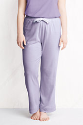 Women's Plus Striped Pyjama Bottoms