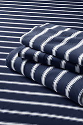 School Uniform Knit Stripe Sheet Set or Pillowcase