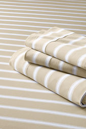 Knit Stripe Sheet Set or Pillowcase