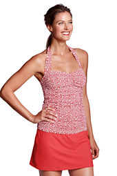 Women's Beach Living Batik Princess Tankini Top