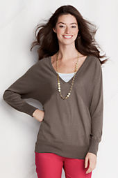 Women's Dolman V-neck Sweater