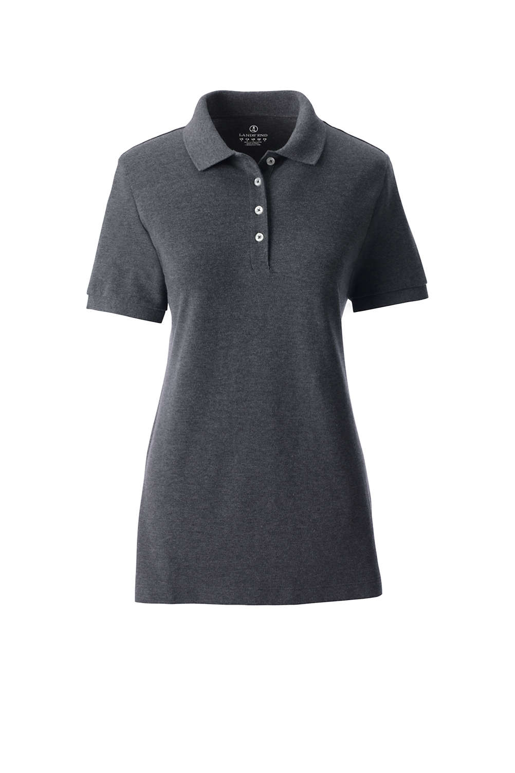 884c33bad School Uniform Women's Banded Short Sleeve Fem Fit Mesh Polo from Lands' End