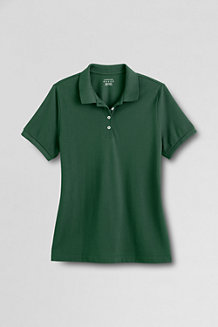 Women's Feminine Fit Short Sleeve Piqué Polo