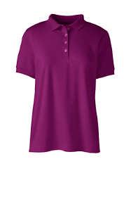 Women's Short Sleeve Feminine Fit Banded Pima Polo Shirt