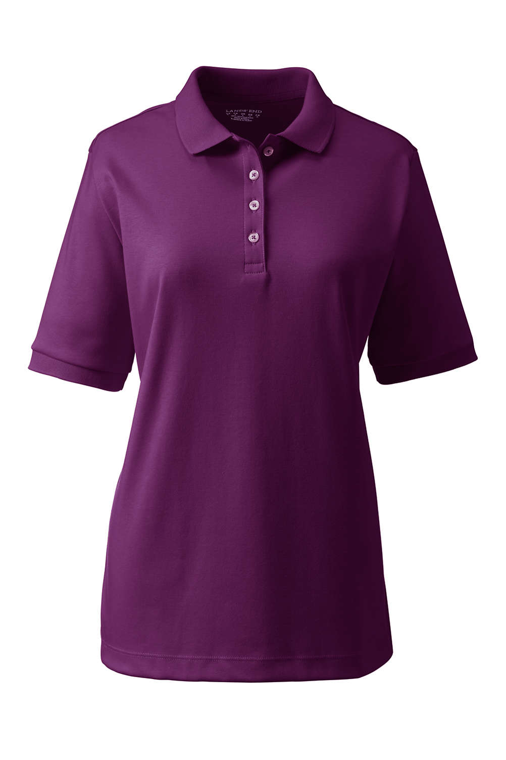 c327a184 Women's Short Sleeve Relaxed Fit Pima Polo. Item #4265997R3. View Fullscreen