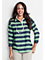 Le Polo Georgette Manches ¾ Femme, Taille Standard