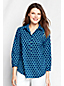 Women's Regular Three-quarter Sleeve Cotton Lawn Tunic