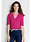 Women's Regular Cotton/Modal Pique Johnny Collar Polo