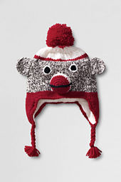 Kids' Hand Knit Animal Hat