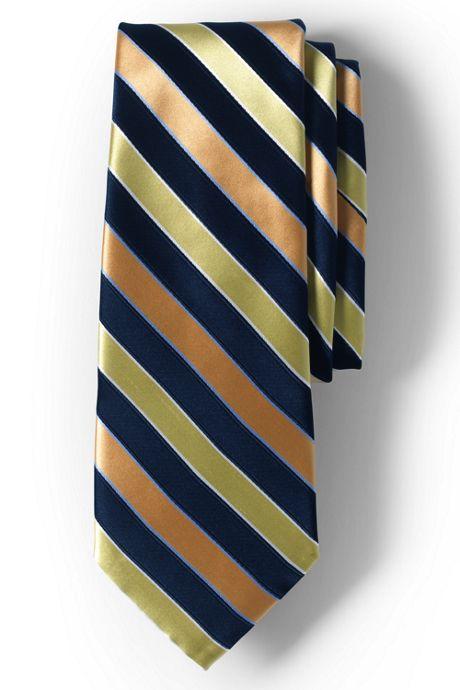 School Uniform Custom Hickory Stripe To Be Tied Tie