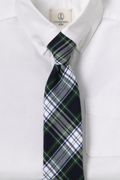 Kids Plaid To Be Tied Tie