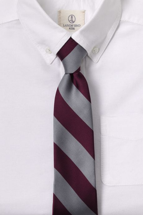 Kids Stripe To Be Tied Tie