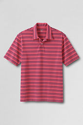 Men's Short Sleeve Stripe Super-T Polo Shirt