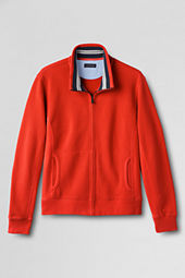 Men's Brushed Pique Full-zip Jacket