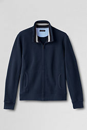 NQP Men's Brushed Pique Full-zip Jacket