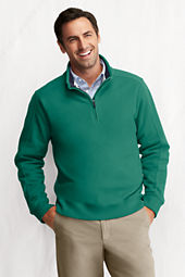 Men's Brushed Pique Half-zip Pullover