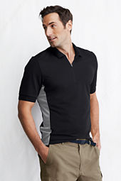 Men's Short Sleeve Rash Guard Polo