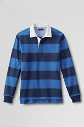 Men's Long Sleeve Stripe Jersey Rugby