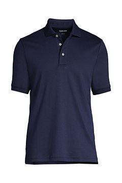 Short Sleeve Super Soft Supima Polo Shirt 428241: Radiant Navy