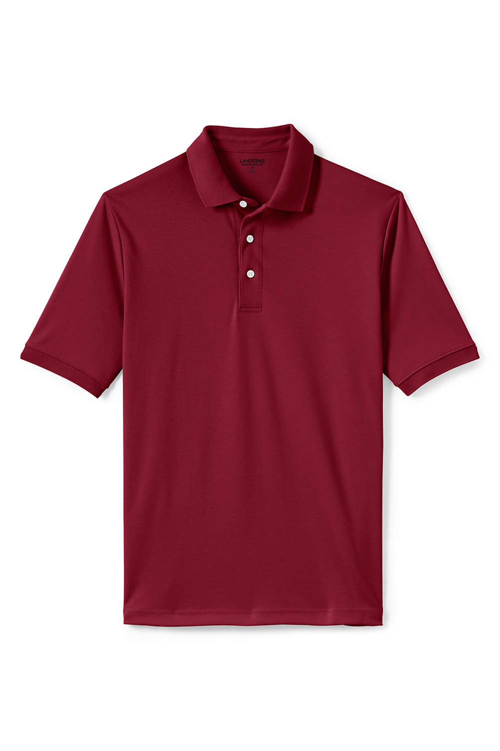 Mens Short Sleeve Supima Polo Shirt From Lands End