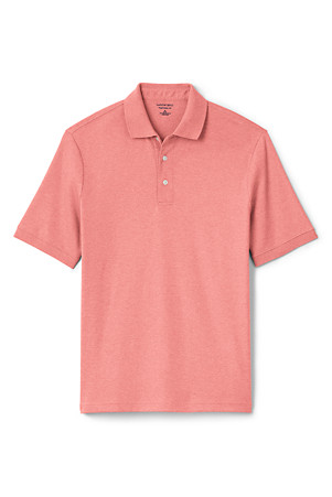fe892efed71f0 Men's Supima Polo Shirt, Traditional Fit | Lands' End