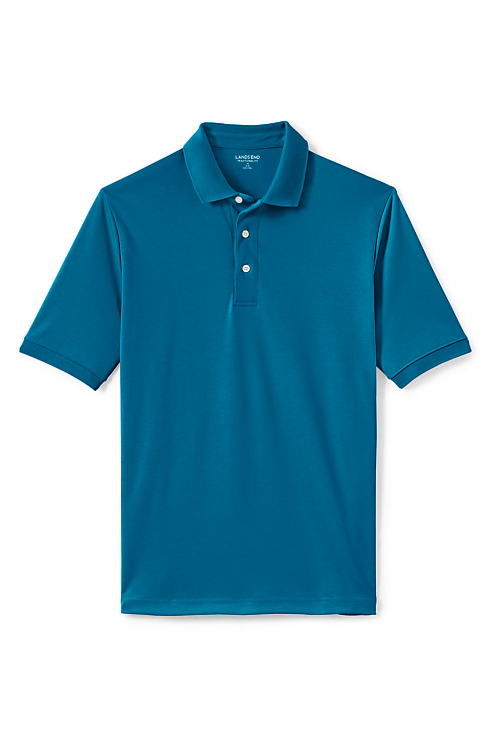 Lands' End Men's Tailored Fit Supima Polo Shirt