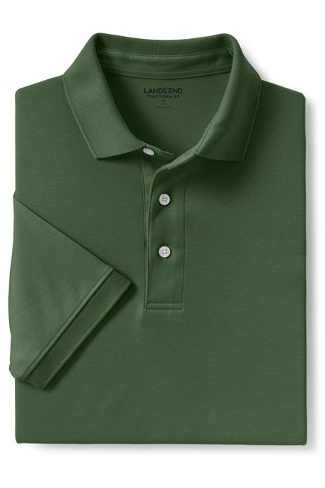 Men's Tall Short Sleeve Super Soft Supima Polo Shirt