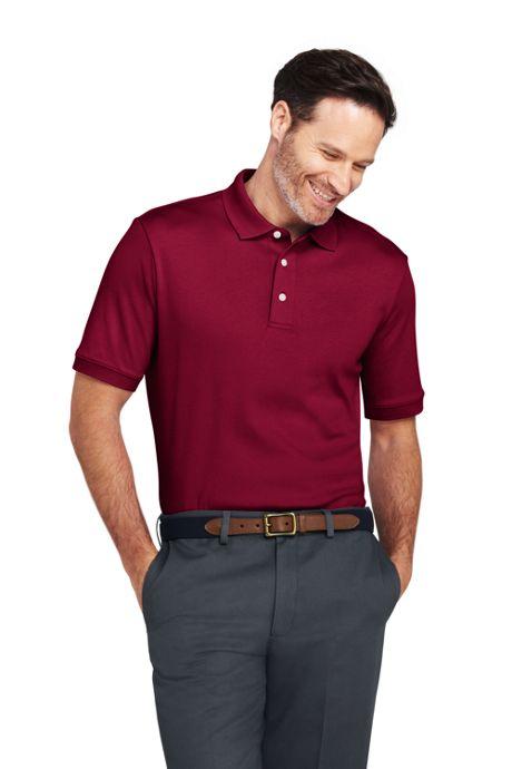 Men's Tall Supima Polo Shirt