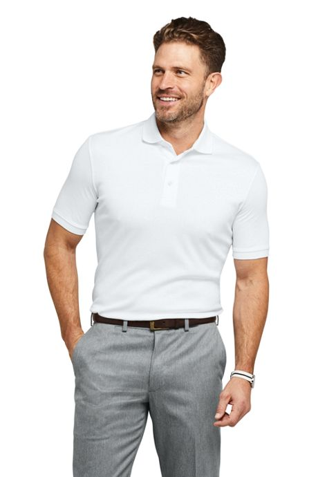 Men's Short Sleeve Supima Polo Shirt