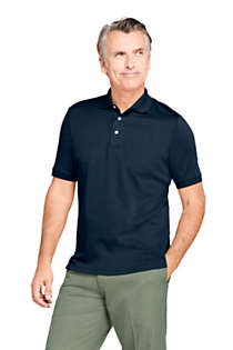 Men's Short Sleeve Super Soft Supima Polo Shirt, Front