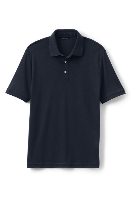 Men's Tailored Fit Short Sleeve Super Soft Supima Polo Shirt
