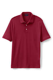 Men's Tailored Fit Short Sleeve Supima Polo Shirt