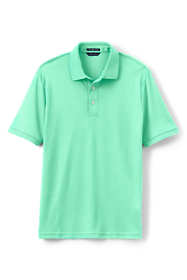 Men's Tall Tailored Fit Short Sleeve Super Soft Supima Polo Shirt