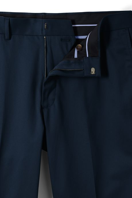 Men's Traditional Fit No Iron Twill Pants