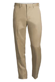 Men's Big and Tall Traditional Fit No Iron Dress Twill Trousers