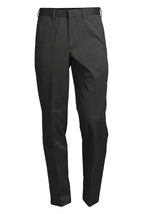 Men's No Iron Dress Twill Plain Traditonal Trousers
