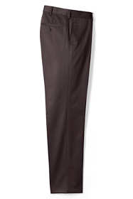 Men's Traditional Fit No Iron Twill Dress Pants