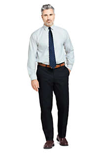 Men's Traditional Fit No Iron Twill Dress Pants, Unknown